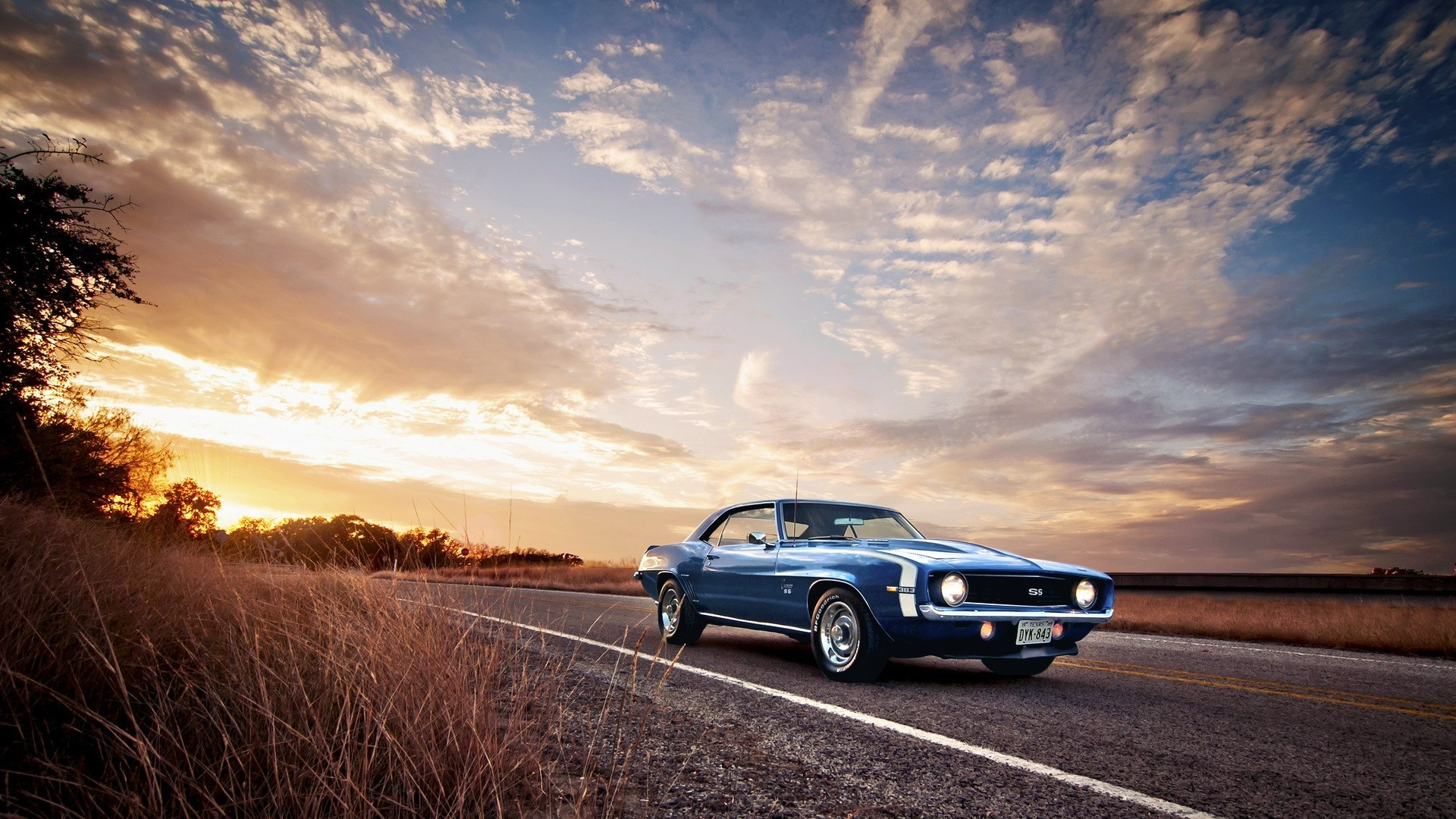 sports-car-auto-chevrolet-camaro-ss-muscle-cars-nature-road-1920x1080